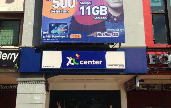 XL Centre Provider - Manado